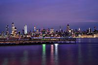Midtown Manhattan Skyline & Hudson River