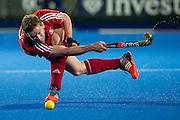 Great Britain v Germany, Lee Valley Hockey & Tennis Centre, London, UK on 14 April 2015. Photo: Simon Parker