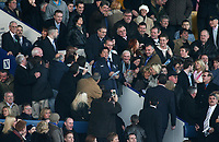 Photo: Paul Thomas.<br />Everton v Reading. The Barclays Premiership. 14/01/2007.<br /><br />Sylvester Stallone (C) comes to watch the Everton v reading game.