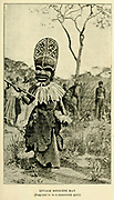 Luvale Medicine Man From the book ' Missionary travels and researches in South Africa ' by Livingstone, David, 1813-1873; Arnot, Fred. S. (Frederick Stanley), 1858-1914; Published in London by J. Murray in 1899