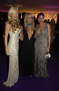 Caprice Bouret, Hannah Sandling and Rebecca Loos. British Red Cross London Ball,- H20 the Element of Life held at the Room By the River. SE1. 17 November 2005. ONE TIME USE ONLY - DO NOT ARCHIVE  © Copyright Photograph by Dafydd Jones 66 Stockwell Park Rd. London SW9 0DA Tel 020 7733 0108 www.dafjones.com
