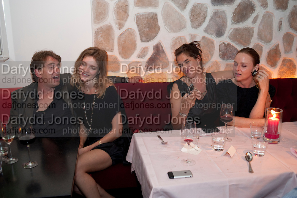 SCOTT DOUGLAS; NATALIA VODIANOVA; TRACEY EMIN; STELLA MCCARTNEY, Prada Congo Benefit party. Double Club. Torrens Place. Angel. London. 2 July 2009.