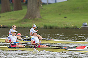 Amsterdam. NETHERLANDS.  USA W2- Kerry SIMMONDS(s) and  Megan KALMOE(b).   De Bosbaan Rowing Course, venue for the 2014 FISA  World Rowing. Championships.  . 13:39:55  Saturday  30/08/2014  [Mandatory Credit; Peter Spurrier/Intersport-images]