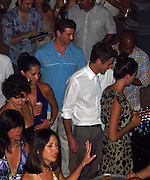 Olivia Munn, Bryan Greenberg, Dave Annable and Odette Yustman..Celebs boarding a Ferry to Palomino Island..Celebrities attend Hollywood Domino Celebrity Golf Tournament Gala during Labor Day weekend in Puerto Rico..Palomino Island, Puerto Rico, USA..Saturday, September 03, 2011..Photo By CelebrityVibe.com..To license this image please call (323) 425-4035; or .Email: CelebrityVibe@gmail.com ; .website: www.CelebrityVibe.com.**EXCLUSIVE**