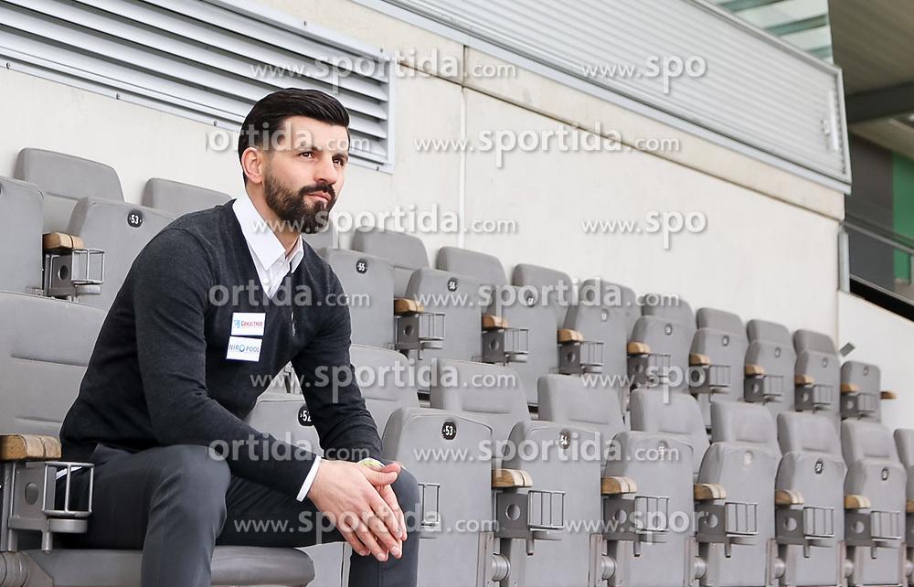 04.01.2021, Keine Sorgen Arena, Ried, AUT, 1. FBL, SV Guntamatic Ried, Pressekonferenz zur Vorstellung des neuen Cheftrainers und Sportkoordinators, im Bild Miron Muslic (Trainer SV Guntamatic Ried) // during a press conference to introduce the new head coach and sports coordinator of SV Guntamatic Ried at the Keine Sorgen Arena in Ried, Austria on 2021/01/04. EXPA Pictures © 2020, PhotoCredit: EXPA/ Roland Hackl