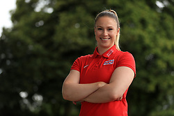 Hammer Thrower Sophie Hitchon during the team announcement ahead of the IAAF World Championships, at the Loughborough University High Performance Centre. PRESS ASSOCIATION Photo. Picture date: Tuesday July 11, 2017. See PA story ATHLETICS Worlds. Photo credit should read: Tim Goode/PA Wire