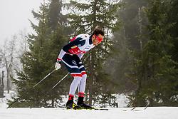 November 16, 2018 - BeitostØLen, NORWAY - 181116 Emil Iversen of Norway competes in the men's 15km classic technique interval start during Beitosprinten 2018 on November 16, 2018 in Beitostølen..Photo: Vegard Wivestad Grøtt / BILDBYRÃ…N / kod VG / 170248 (Credit Image: © Vegard Wivestad GrØTt/Bildbyran via ZUMA Press)