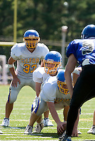 Inter Lakes Football Jamboree with Newfound, Gilford and Winnisquam squads August 28, 2010.