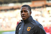 Hull City striker Abel Hernandez (9) before the Premier League match between Hull City and Stoke City at the KCOM Stadium, Kingston upon Hull, England on 22 October 2016. Photo by Ian Lyall.