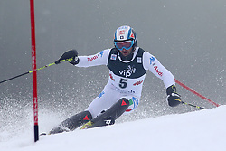 06.01.2013, Crveni Spust, Zagreb, CRO, FIS Ski Alpin Weltcup, Slalom, Herren, 2. Lauf, im Bild Cristian Deville (ITA) // Cristian Deville of Italy in action during 2nd Run of the mens Slalom of the FIS ski alpine world cup at Crveni Spust course in Zagreb, Croatia on 2013/01/06. EXPA Pictures © 2013, PhotoCredit: EXPA/ Pixsell/ Ibrahim Kralj..***** ATTENTION - for AUT, SLO, SUI, ITA, FRA only *****