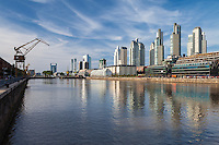 PUERTO MADERO, CIUDAD AUTONOMA DE BUENOS AIRES, ARGENTINA (PHOTO BY © MARCO GUOLI - ALL RIGHTS RESERVED)