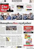 March 19, 2021 (AFRICA): Front-page: Today's Newspapers In Africa