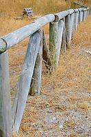 Wood Fence in Sierra de Grazalema Natural Park, Spain. Image taken with a Nikon 1 V1 and 30-110 mm VR lens (ISO 100, 30 mm, f/5.6, 1/250 sec)