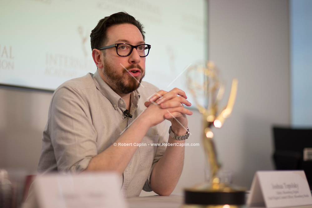 International Emmys Board Meeting at Bloomberg LP in New York March 13, 2015.<br /> <br />  Photo © Robert Caplin