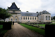 France, Normandy.  St. Wandrille Abbey