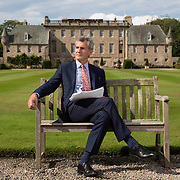 Gordonstoun School, near Elgin, Moray. Headmaster Simon Reid. Picture Robert Perry  for The Times 19th August 2015<br /> <br /> Must credit photo to Robert Perry<br /> FEE PAYABLE FOR REPRO USE<br /> FEE PAYABLE FOR ALL INTERNET USE<br /> www.robertperry.co.uk<br /> NB -This image is not to be distributed without the prior consent of the copyright holder.<br /> in using this image you agree to abide by terms and conditions as stated in this caption.<br /> All monies payable to Robert Perry<br /> <br /> (PLEASE DO NOT REMOVE THIS CAPTION)<br /> This image is intended for Editorial use (e.g. news). Any commercial or promotional use requires additional clearance. <br /> Copyright 2014 All rights protected.<br /> first use only<br /> contact details<br /> Robert Perry     <br /> 07702 631 477<br /> robertperryphotos@gmail.com<br /> no internet usage without prior consent.         <br /> Robert Perry reserves the right to pursue unauthorised use of this image . If you violate my intellectual property you may be liable for  damages, loss of income, and profits you derive from the use of this image.