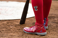 A close up view of the shoes of Jimmy Rollins #11 of the Philadelphia Phillies during a game against the Minnesota Twins on June 11, 2013 at Target Field in Minneapolis, Minnesota.  The Twins defeated the Phillies 3 to 2.  Photo: Ben Krause