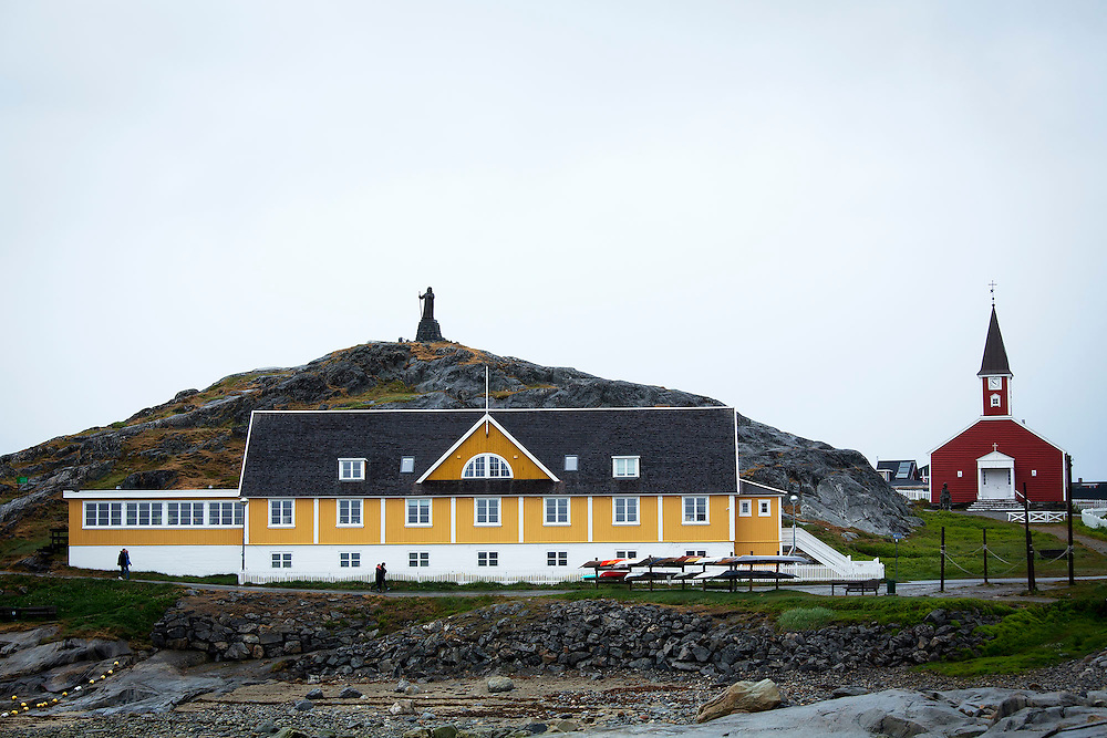 in Nuuk, Greenland, July 26, 2015. Photograph by Todd Korol for The Toronto Star