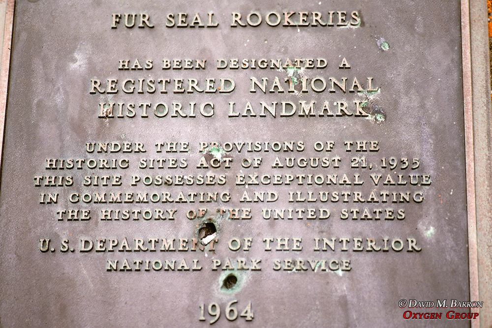 Seal Rookerie Sign