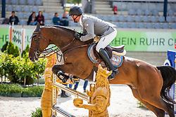 WEISHAUPT Philipp (GER), Coby 8<br /> Allianz-Preis<br /> CSI3* - Aachen Grand Prix, Springprüfung mit Stechen, 1.50m<br /> Grosse Tour<br /> Aachen - Jumping International 2020<br /> 06. September 2020<br /> © www.sportfotos-lafrentz.de/Stefan Lafrentz
