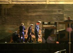 ITALY GIARDINI NAXOS 7MAY08 - Italian Carabinieri seize fishing gear after the pursuit of illegal driftnet fishing boat Diomede II to their home port of Giardini Naxo  in Sicily...jre/Photo by Jiri Rezac / Greenpeace..© Jiri Rezac 2008..Contact: +44 (0) 7050 110 417.Mobile:  +44 (0) 7801 337 683.Office:  +44 (0) 20 8968 9635..Email:   jiri@jirirezac.com.Web:    www.jirirezac.com..© All images Jiri Rezac 2008 - All rights reserved.