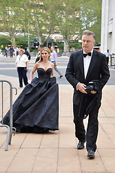 May 20, 2019 - New York, NY, USA - May 20, 2019  New York City..Hilaria Baldwin and Alec Baldwin attending arrivals to the American Ballet Theater  Spring Gala at the Metropolitan Opera House in Lincoln Center on May 20, 2019 in New York City. (Credit Image: © Kristin Callahan/Ace Pictures via ZUMA Press)