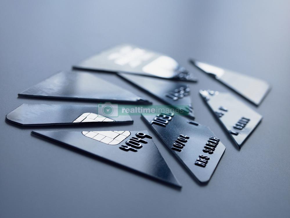 Dec. 14, 2012 - Cut up credit card (Credit Image: © Image Source/ZUMAPRESS.com)