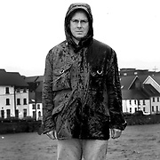 Infamous trader Nick Leeson in his new hometown Galway. At the harbour by the River Corrib...<br /> <br /> Picture Robert Perry. Scotland on Sunday.