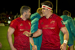January 6, 2019 - Galway, Ireland - Billy Holland and Sammy Arnold of Munster pictured during the Guinness PRO14 match between Connacht Rugby and Munster Rugby at the Sportsground in Galway, Ireland on January 5, 2019  (Credit Image: © Andrew Surma/NurPhoto via ZUMA Press)