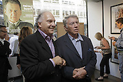 David Montgomery and Don McCullin, EXHIBITION OPENING OF PHOTOS BY DAVID MONTGOMERY. - 'Shutterbug' Scream Gallery. Bruton St. London. 13 July 2006. ONE TIME USE ONLY - DO NOT ARCHIVE  © Copyright Photograph by Dafydd Jones 66 Stockwell Park Rd. London SW9 0DA Tel 020 7733 0108 www.dafjones.com