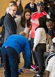 © London News Pictures. 19/01/2015. London, UK. Catherine, Duchess of Cambridge during a visit to formally open Kensington Leisure Centre in West London. Photo credit: Ben Cawthra/LNP