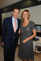 JAMES & JULIA OGILVY at the 2007 Luxury Briefing Awards at B&B Italia, 250 Brompton Road, London SW3 on 4th October 2007.<br /><br />NON EXCLUSIVE - WORLD RIGHTS