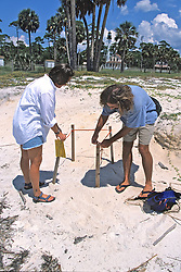 Erin & James With Turtle Nest