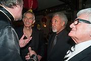 TONY BLAIR; SIR TOM JONES, Chinese New Year dinner given by Sir David Tang. China Tang. Park Lane. London. 4 February 2013.