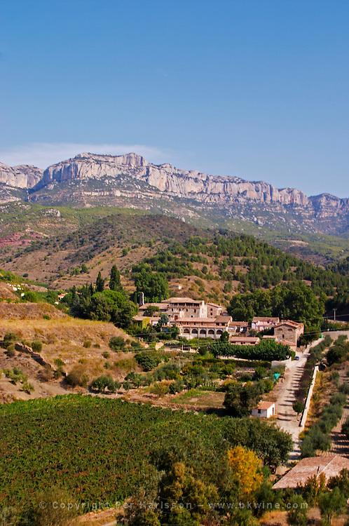 The village. Scala Dei, Priorato, Catalonia, Spain