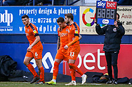Luton Town midfielder George Moncur coming on in the second half during the EFL Sky Bet League 1 match between Luton Town and Wycombe Wanderers at Kenilworth Road, Luton, England on 9 February 2019.