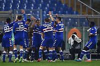 Esultanza Gol Luis Muriel (4L) Sampdoria 0-2 Goal celebration <br /> Roma 16-03-2015 Stadio Olimpico Football Calcio Serie A 2014/2015 AS Roma - Sampdoria . Foto Andrea Staccioli / Insidefoto