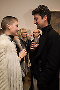MANON DELLER; VINCENT EDMOND LOUIS, Launch of the Dutko Gallery  the first commercial space in London dedicated to Art Deco design. 18 Davies Street , Mayfair. London. 15 October 2015