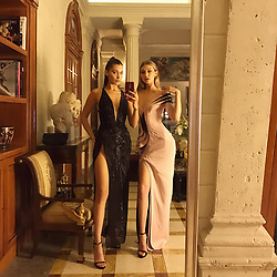"""Bella Hadid releases a photo on Instagram with the following caption: """"This is the celebration of a genius \u2764\ufe0f\u2764\ufe0f\u2764\ufe0f."""". Photo Credit: Instagram *** No USA Distribution *** For Editorial Use Only *** Not to be Published in Books or Photo Books ***  Please note: Fees charged by the agency are for the agency's services only, and do not, nor are they intended to, convey to the user any ownership of Copyright or License in the material. The agency does not claim any ownership including but not limited to Copyright or License in the attached material. By publishing this material you expressly agree to indemnify and to hold the agency and its directors, shareholders and employees harmless from any loss, claims, damages, demands, expenses (including legal fees), or any causes of action or allegation against the agency arising out of or connected in any way with publication of the material."""