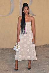 Kelly Rowland attends the Christian Dior Cruise 2018 on May 11th, 2017 in Calabasas, California. Photo by ABACAPRESS.COM