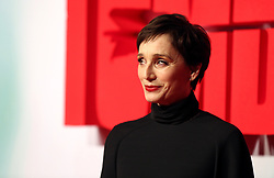 Kristin Scott Thomas attending the Tomb Raider European Premiere held at Vue West End in Leicester Square, London