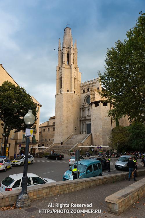 Basílica de Sant Feliu in Girona, Catalonia, Spain