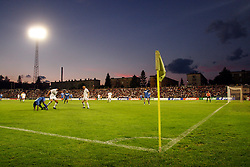 """The last game of Slovenian """"golden team"""" at Bezigrad stadion for football made by Joze Plecnik in year 1935, before rebuilded in 2008. The match was held on June 18, 2005. (Photo by Vid Ponikvar / Sportal Images)."""