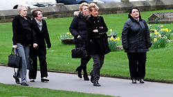 © Licensed to London News Pictures. <br /> 17/03/2017<br /> DURHAM, UK.  <br /> <br /> Mourners arrive for the funeral at Durham Cathedral of Game of Thrones actor NEIL FINGLETON.<br /> <br /> The 36-year old died suddenly last month at his home in Gilesgate, Durham. He was the UK's tallest man and a former professional basketball player. He turned to acting and played a giant, Mag the Mighty, in the Game of Thrones series.  <br /> <br /> Photo credit: Ian Forsyth/LNP