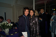 ANDY WONG; PATTI WONG, Book launch for the book by Julian Fellowes 'Past Imperfect.' Cadogan Hall. Sloane Terrace. London. 4 November 2008 *** Local Caption *** -DO NOT ARCHIVE -Copyright Photograph by Dafydd Jones. 248 Clapham Rd. London SW9 0PZ. Tel 0207 820 0771. www.dafjones.com