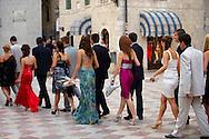 High School end of Year parade, Kotor Montenegro