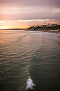 Looking North from the San Clemente Pier