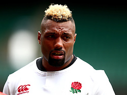Jamal Ford-Robinson of England takes part in training at Twickenham ahead of the upcoming tour of Argentina - Mandatory by-line: Robbie Stephenson/JMP - 02/06/2017 - RUGBY - Twickenham - London, England - England Rugby Training