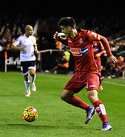 RCD Espanyol's  Gerard during La Liga match. February 13, 2016. (ALTERPHOTOS/Javier Comos)