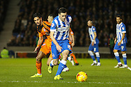 Brighton winger, Jamie Murphy (15)  during the Sky Bet Championship match between Brighton and Hove Albion and Ipswich Town at the American Express Community Stadium, Brighton and Hove, England on 29 December 2015. Photo by Phil Duncan.